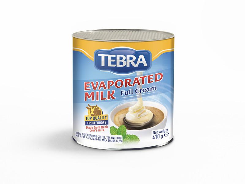 Tebra Evaporated Milk